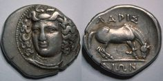 Larissa Drachm - circa 350-325 BC