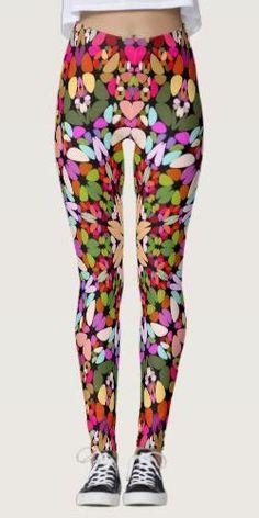 Shop Happy Stone Kaleidoscope Mandala Leggings created by ZyddArt. Bohemian Design, Bohemian Style, Yoga Fashion, Fashion Clothes, Apparel Design, Leggings Fashion, Boho Outfits, Printed Leggings, Dressmaking