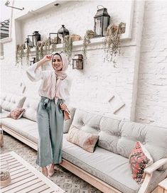 pastel hijab look-Modest and colorful hijab outfits – Just Trendy Girls