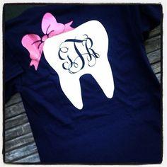 Glam Dental Monogram Tee HP