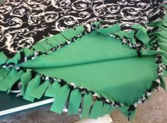 These blankets can be personalized with all the great fleece patterns & colors available. An added bonus, this is a quick and easy project!