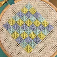 Embroidery || Foliage Stitch
