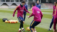 Entrenamiento (11/02/16) | FC Barcelona