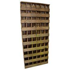 Primitive, Depression Era Farm Cabinet Hand-Built of Found Lumber