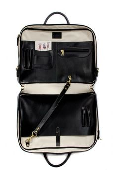 d4b8c4b114 _OPUMO Leather Accessories, Briefcase, Travel Bags, Lineup, Panther, Black  Leather,