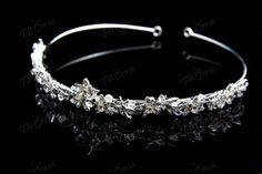 Gorgeous Crystal Wedding Bridal Headbands