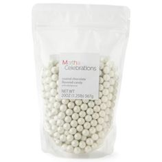 White candies for favors or decor