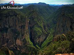 Barranca Candameña. TURISMO EN BARRANCAS DEL COBRE. La Barranca de Candameña, es una de las 7 barrancas que conforman el complejo denominado Barrancas del Cobre,  se encuentra enclavada en el Parque Nacional Cascada de Basaseachi, a 276 kilómetros al oeste de la capital del Estado, a cuatro horas por la carretera 16 que llega a Ciudad Cuauhtémoc y Basaseachi. Conozca este espectacular lugar al visitar Chihuahua. #turismoenchihuahua