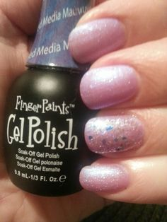 fingerpaints gel polish in playing fauverites with purple