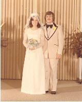 1970 1970s Wedding, Vintage Weddings, Floor Length Veil, Bridesmaid Dresses, Wedding Dresses, Marry Me, Wedding Attire, Vows, Stars