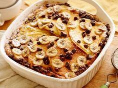 Chocolate-Banana Pancake Casserole