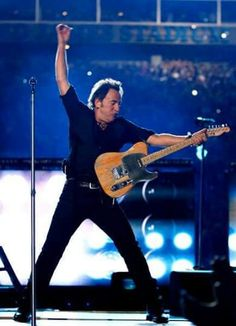 Bruce at the Superbowl.
