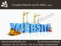 Account4WEB || Web Hosting in Pakistan.: Quality Website Designing And Development || Accou...