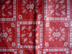52x90-Oblong-Vinyl-Flannelback-Tablecloth-Summer-Red-BandanaHandkerchief-Paisley