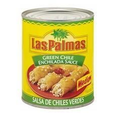 Las Palmas Green Medium Enchilada Sauce (6x19oz)