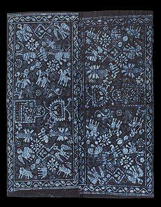 """Adire cloth - """"Ojuteke""""  US$1100"""