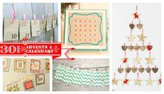 35 cute DIY Christmas advents and calendars
