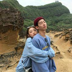 asian, couple, and korean image Korean Image, Cute Korean, Korean Aesthetic, Couple Aesthetic, Ulzzang Couple, Ulzzang Girl, Cute Couples Goals, Couple Goals, Couple Photography