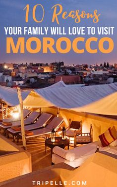 Traveling with a family can be very fun but can also be very hard. Once you have kids and a family to travel with, you have to know places that accommodate for an entire family rather than just you. Because of this, you and your family should look into visiting Marrakech, Morocco.