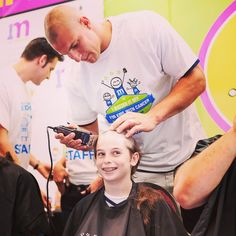 On and off the field, Gronk is one of our biggest man crushes! He has a huge heart and looks pretty great bald. One mission roots for him and his @patriots teammates all football season long! #mcm #gopats #buzzforkids