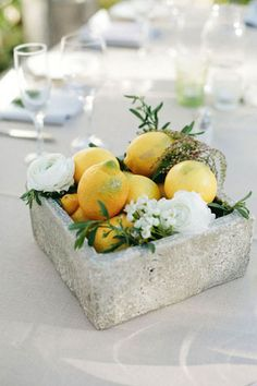 Вдохновение: цитрусовая свадьба