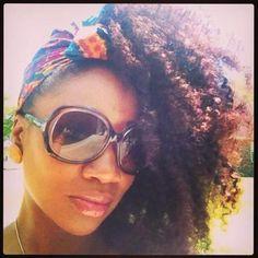 Huge fan of head wraps. Beautiful! - Black Hair Information Community