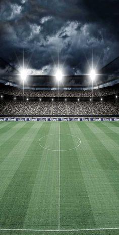 6328 Soccer Stadium Field Backdrop