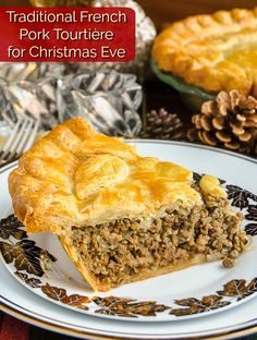 Christmas Cooking, Christmas Eve, Christmas Entertaining, Christmas Stuff, Pastry Recipes, Meat Recipes, French Meat Pie, French Canadian Meat Pie Recipe, Tortiere Recipe