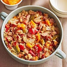 Quinoa with Sausage and Peppers Recipe YUM