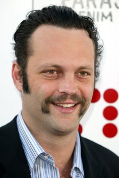 20 Manliest Celebrity Mustaches for Movember   PressRoomVIP Vince Vaughn, Beauty Contest, Movember, What Goes On, Mustache, Pretty Boys, Celebrities, Vip, Cute Boys