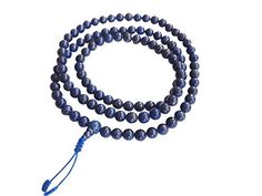 Tibetan Mala Lapis Lazuli Mala for Pr… Lapis Lazuli, Beaded Necklace, Jewelry, Beaded Collar, Pearl Necklace, Jewels, Schmuck, Beaded Necklaces, Jewerly