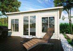 Lillevilla-388 Outdoor Buildings, Villa, Double Vitrage, Easy Garden, Outdoor Furniture, Outdoor Decor, Sun Lounger, Bungalow, Balcony