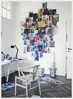 Moderner Arbeitsplatz - Inspirationen zur Wanddekoration