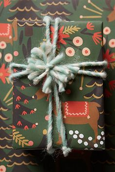 Reindeer Wrapping Paper #anthropologie Christmas Time Is Here, Noel Christmas, All Things Christmas, Winter Christmas, Christmas Crafts, Christmas Decorations, Pretty Packaging, Christmas Gift Wrapping, Wrapping Ideas
