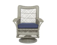 Klaussner Outdoor Outdoor/Patio Willow Swivel Rocking Dining Chair W1200 SRDC - Klaussner Outdoor - Asheboro, NC