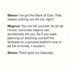 I love how this author can write sarcasm as great as Percy Jackson's