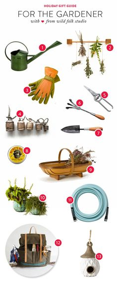 Prepare your list, check it twice - garden gift ideas for those who are naughty and nice