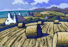Fine art and original prints from some of the best artists in Wales & the UK - from Chris Neale to Jackie Morris, & Maggie Driscoll Williams. Watercolor Landscape, Abstract Landscape, Landscape Paintings, Watercolor Paintings, Portrait Paintings, Painting Abstract, Acrylic Paintings, Art Paintings, Watercolour