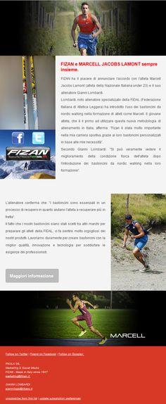 Fizan - Made in Italy since 1947 e Lamont marcell jacobs sempre insieme. Il giovane atleta utilizza nostri bastoncini per il suo allenamento e anche per riabilitazione dagli infortuni. #Fizan sempre vicino ai grandi atleti. www.fizan.it