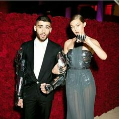 "fuckyeahzarry: "" Zayn Malik and Gigi Hadid attend the ""Manus x Machina: Fashion In An Age Of Technology"" Costume Institute Gala at Metropolitan Museum of Art on May 2016 in New York City. Girl Celebrities, Celebs, Gigi Hadid And Zayn Malik, Zayn Mailk, Costume Institute, Celebrity Couples, Cute Couples, Power Couples, Girl Crushes"