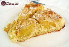 Bizcocho de manzana, un bizcocho muy esponjoso y con todo el sabor de esta fruta que tenemos durante todo el año, gracias a su fácil conservación.