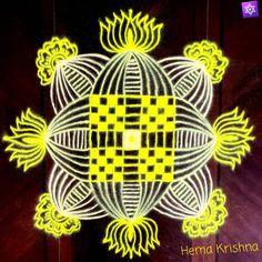 Simple Rangoli Border Designs, Rangoli Borders, Padi Kolam, Symbols, Wreaths, Christmas Ornaments, Halloween, Holiday Decor, Home Decor