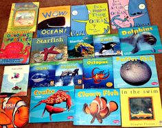 """Really awesome for an """"Under the Sea""""/Ocean themed unit for Preschoolers!"""