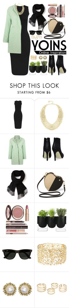 """""""Yoins.com"""" by oshint ❤ liked on Polyvore featuring BCBGMAXAZRIA, Lacoste, Charlotte Tilbury, Authentics, Ray-Ban, Charlotte Russe, Kendra Scott and yoins"""