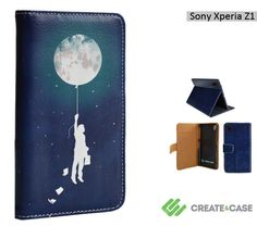 Artist Designed Sony Xperia Z1 wallet style by CreateandCase, £19.99