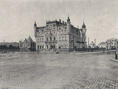 Piața Victoriei și Ministerul de Externe la începutul secolului XX.