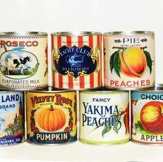 Evaporated Milk, Vintage Labels, Old School, Nostalgia, Interior Decorating, Peach, Fancy, Canning, Store