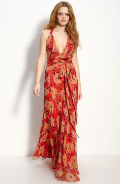 Steal her Style: Nicole Richies Floaty Floral Maxi Dress - Flare