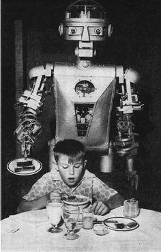 """Toast...    #Robots    .                                                                       .                                                                       .          Pgeist271 - """"The Breakfast Robot"""""""