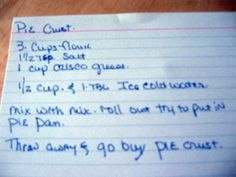 pie-crust-recipe
